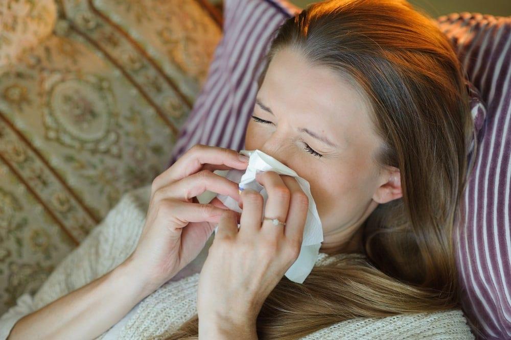 علاج الانفلونزا للحامل في المنزل