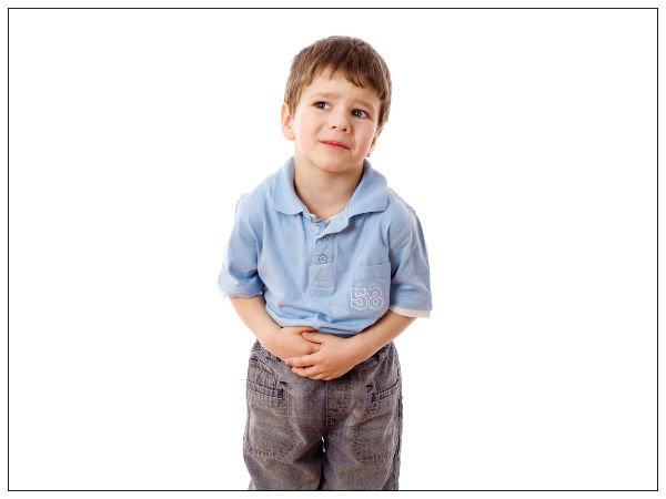 علاج الم البطن عند الاطفال في المنزل