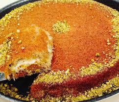 مكونات طريقة عمل الكنافة فاطمة أبو حاتي